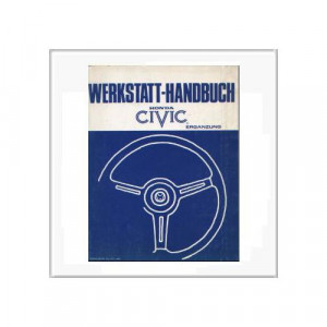 Honda Civic - Ergänzung Werkstatthandbuch