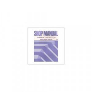 Honda Concerto (90>) - Shop Manual