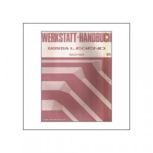 Honda LEGEND (>1989) - Werkstatthandbuch - Nachtrag