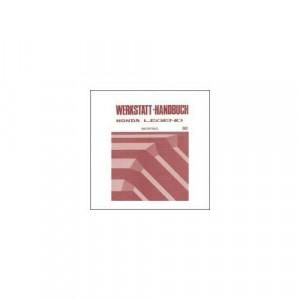 Honda Legend - Werkstatthandbuch - Nachtrag