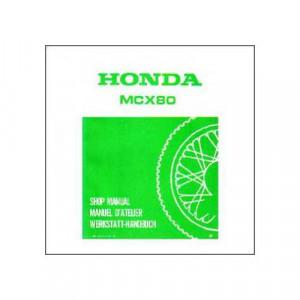Honda MCX80 ab 1983 - Werkstatthandbuch