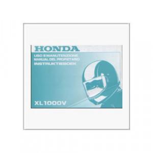 Honda XL 1000 V - Betriebsanleitung