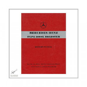 Mercedes 300 SL Roadster W198 - Owners manual