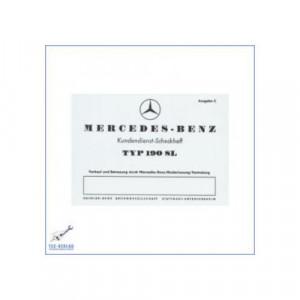 Mercedes Benz 190SL W 121 (55-63) - Wartungsheft