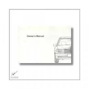 Mercedes-Benz 300 D 2,5 Turbo (84>) Owner`s Manual 1990