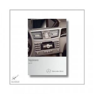 Mercedes-Benz E-Class Coupe (09>) Supplement Audio 20 2011