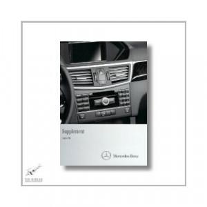Mercedes-Benz E-Class Coupe (09>) Supplement Audio 50 2011