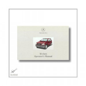 Mercedes-Benz M-Class (97>) Operator`s Manual 2000