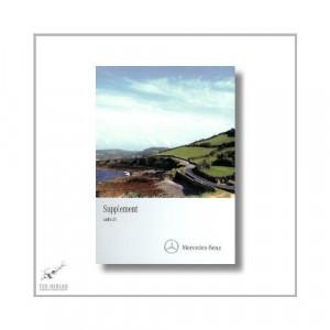 Mercedes-Benz SLK (11>) Supplement Audio 20 2011