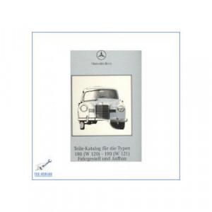 Mercedes Benz W 120, W 121 (53-62) - Ersatzteilliste