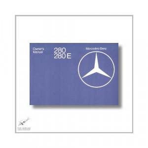 Mercedes-Benz W123 280 280E (75>) Owner`s Manual 1976