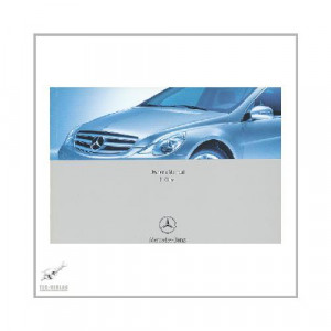 Mercedes R-Klasse Typ 251 (08-10) - Owner Manual