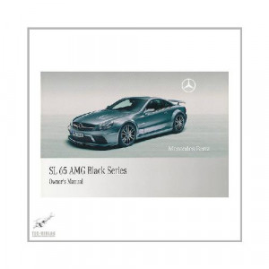Mercedes SL 65 AMG Black Series - Owner`s Manual