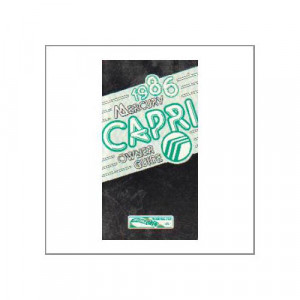 Mercury Capri 1986 - Owner Guide