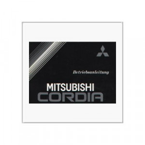 Mitsubishi Cordia ab 1985 - Betriebsanleitung