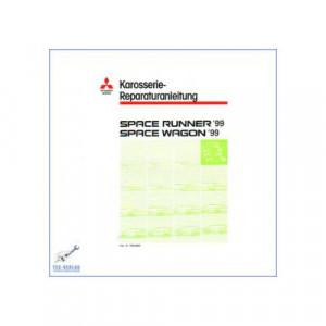 Mitsubishi Space Runner, Wagon (>99) - Werkstatthandbuch - Karosserie