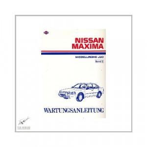 Nissan Maxima - Modellreihe J30 (88-95) - Wartungsanleitung Band 2