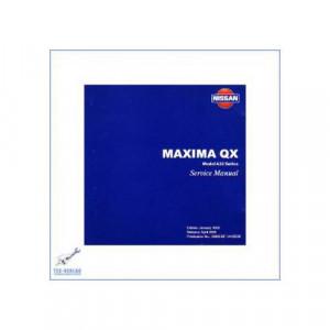 Nissan Maxima QX A33 Werkstatthandbuch CD