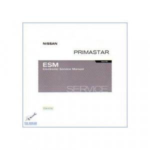 Nissan Primastar X83 Werkstatthandbuch CD