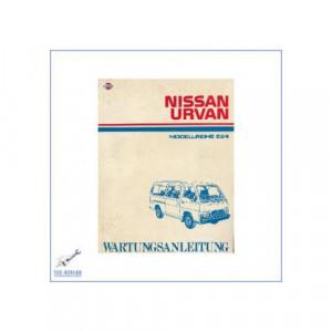 Nissan Urvan E24 (86-01) - Wartungsanleitung