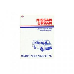 Nissan Urvan E24 & Ergänzung-I - Wartungsanleitung