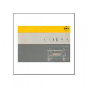 Opel Corsa A (82-93) - Betriebsanleitung
