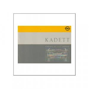 Opel Kadett 1987 - Betriebsanleitung