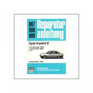 Opel Kadett E (ab 1984) - Reparaturanleitung