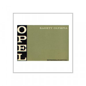 Opel Kadett Olympia ab 1970 - Betriebsanleitung