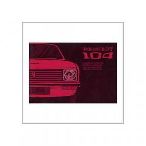 Peugeot 104 ab 1972 - Betriebsanleitung