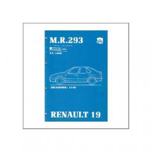 Renault 19 - Abgasnorm - Werkstatthandbuch