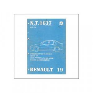 Renault 19 - Mono-Einspritzung - Werkstatthandbuch
