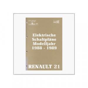 Renault 21 1988/1989 - Schaltpläne