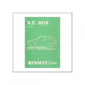 Renault Clio - Mono-Einspritzung - Werkstatthandbuch