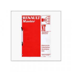 Renault Master 1995 - Schaltpläne
