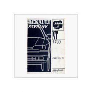 Renault Safrane ABS - Werkstatthandbuch Nachtrag