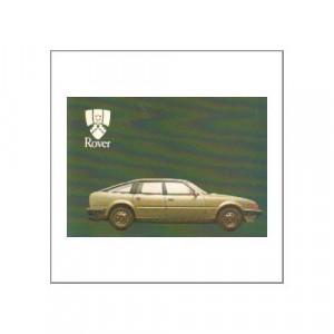 Rover 2000er Serie 1983 - Bedienungsanleitung