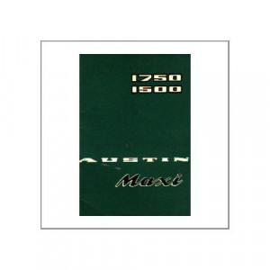 Rover Austin Maxi 1750/1500 - Handbook