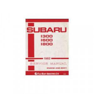 Subaru 1300,1600,1800 - Reparaturanleitung