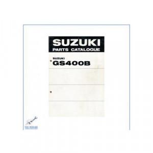 Suzuki GS 400 B (>76) - Ersatzteilkatalog