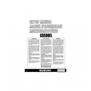 Suzuki GS500 E L (89-95) – Montageanleitung