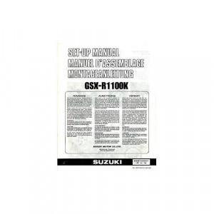 Suzuki  GSX-R1100H (89) - Montageanleitung