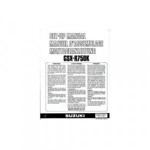 Suzuki  GSX-R750 (89) - Montageanleitung
