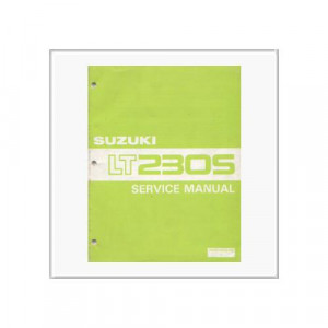 Suzuki LT 230 S - Workshop Manual
