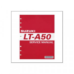 Suzuki LT-A 50 - Workshop Manual