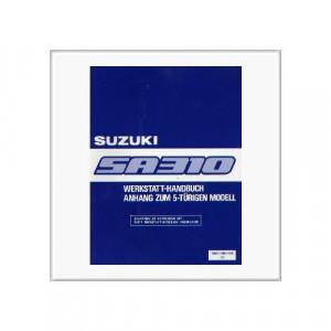 Suzuki Swift SA 310 5-türig - Werkstatthandbuch Anhang