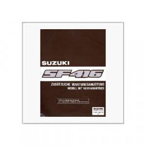 Suzuki Swift SF 416 4WD- Wartungsanleitung