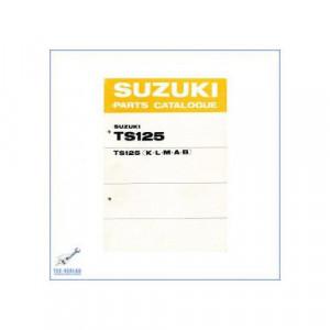 Suzuki TS 125 K / L / M / A / B (>76) - Ersatzteilkatalog