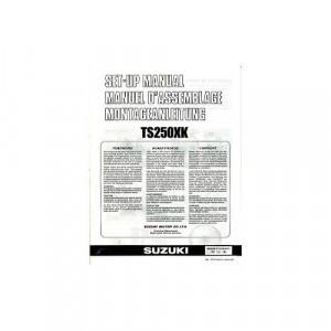 Suzuki TS250 X K (84-89) - Montageanleitung