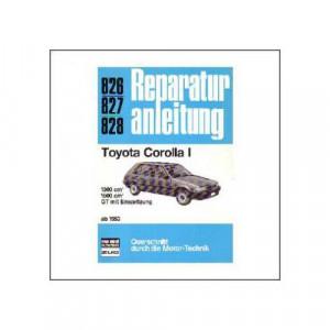 Toyota Corolla I ab 1983 - Reparaturanleitung